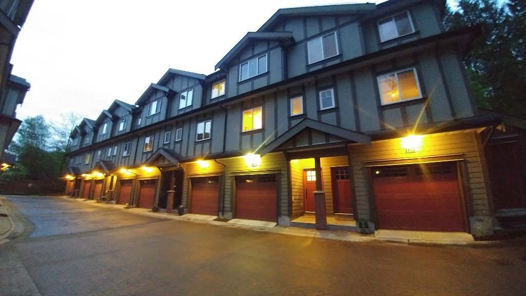 Main Photo: 120-3333 Dewdney Trunk Road in Port Moody: Townhouse for rent