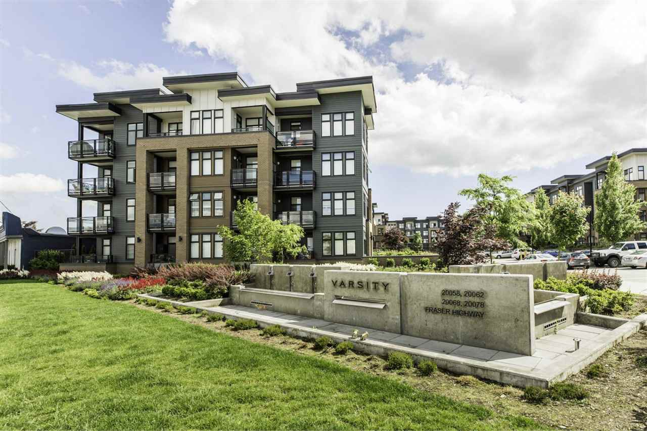 "Main Photo: 317 20078 FRASER Highway in Langley: Langley City Condo for sale in ""Varsity"" : MLS®# R2181716"