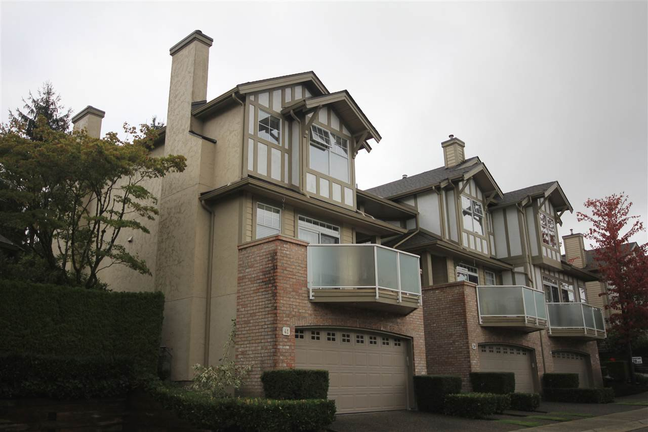 Main Photo: 41 5221 OAKMOUNT CRESCENT in Burnaby: Oaklands Townhouse for sale (Burnaby South)  : MLS®# R2164829