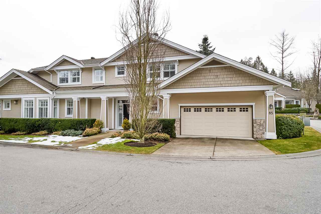 "Main Photo: 85 3500 144 Street in Surrey: Elgin Chantrell Townhouse for sale in ""The Crescent"" (South Surrey White Rock)  : MLS®# R2348661"