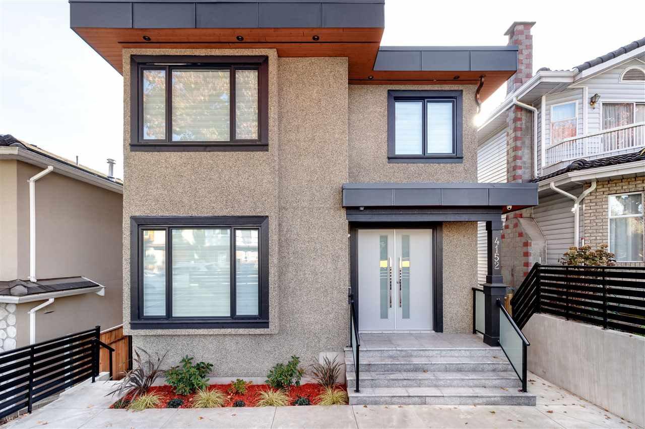 "Main Photo: 4152 PARKER Street in Burnaby: Willingdon Heights House for sale in ""WILLINGDON HEIGHTS"" (Burnaby North)  : MLS®# R2418416"