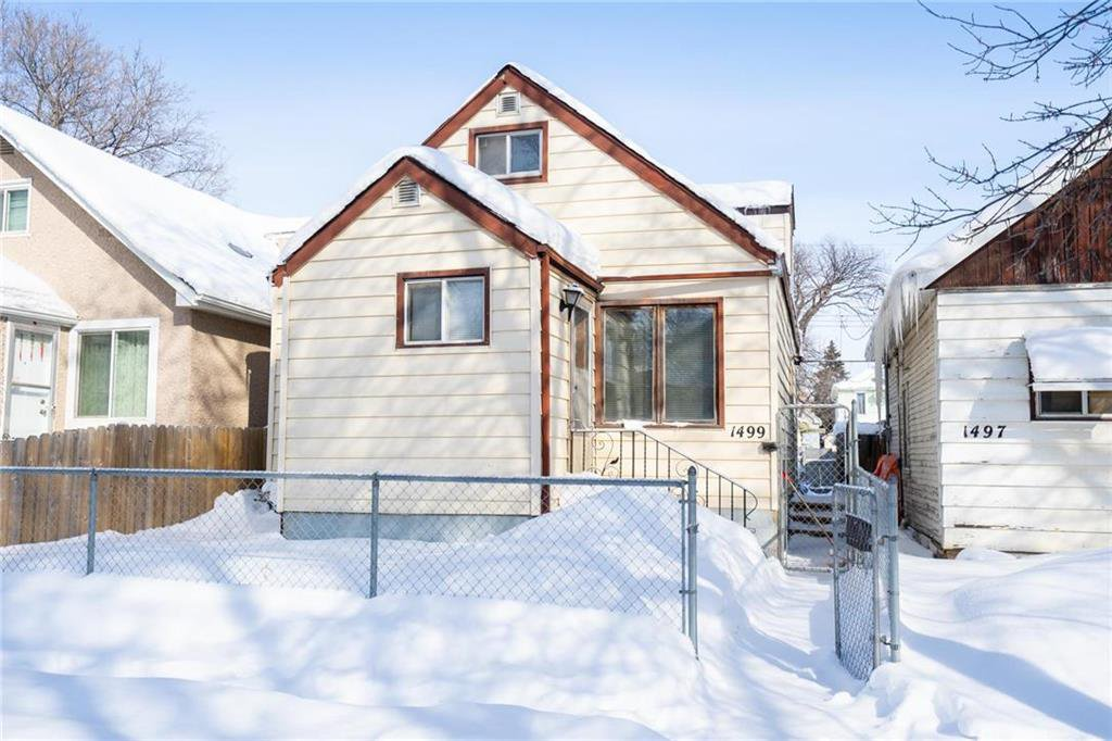 Main Photo: 1499 Bannatyne Avenue in Winnipeg: Weston Residential for sale (5D)  : MLS®# 202004287