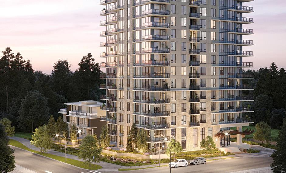 Main Photo: 1403 5410 SHORTCUT ROAD in Vancouver: University VW Condo for sale (Vancouver West)  : MLS®# R2442638