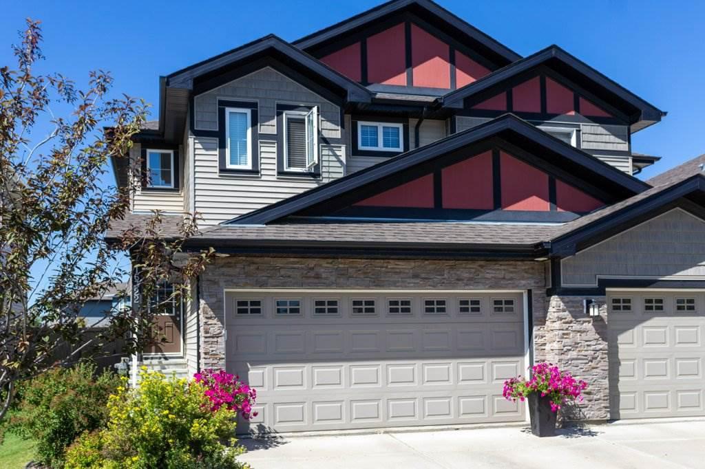 Main Photo: 16322 134 Street in Edmonton: Zone 27 House Half Duplex for sale : MLS®# E4209321