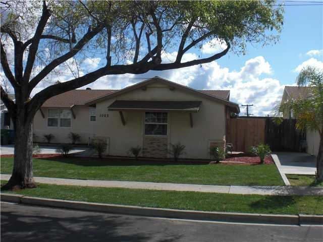Main Photo: EL CAJON House for sale : 3 bedrooms : 1023 Blackbird