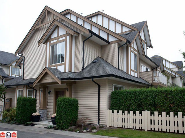 "Main Photo: 42 18707 65TH Avenue in Surrey: Cloverdale BC Townhouse for sale in ""The Legends"" (Cloverdale)  : MLS®# F1124254"