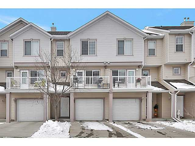 Main Photo: 103 EVERHOLLOW Heights SW in CALGARY: Evergreen Townhouse for sale (Calgary)  : MLS®# C3606499
