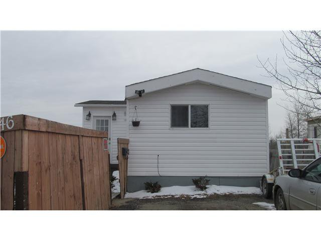 Main Photo: 46 8420 ALASKA Road in Fort St. John: Fort St. John - City SE Manufactured Home for sale (Fort St. John (Zone 60))  : MLS®# N235119