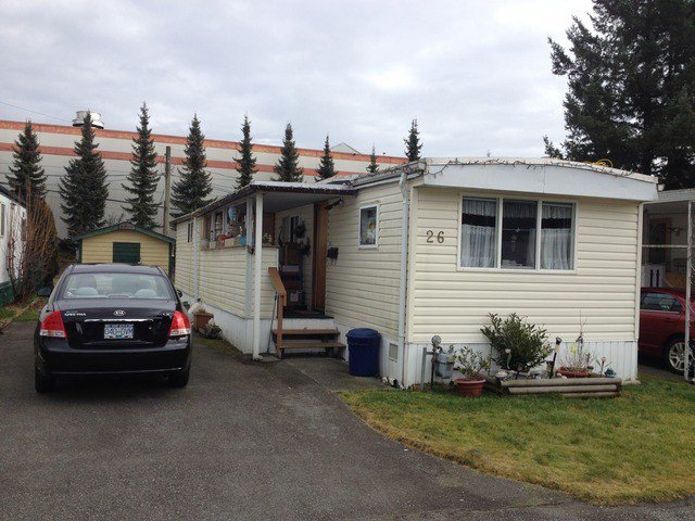 Main Photo: # 26 21163 W LOUGHEED HY in MAPLE RIDGE: Southwest Maple Ridge Manufactured Home for sale ()  : MLS®# V1045935