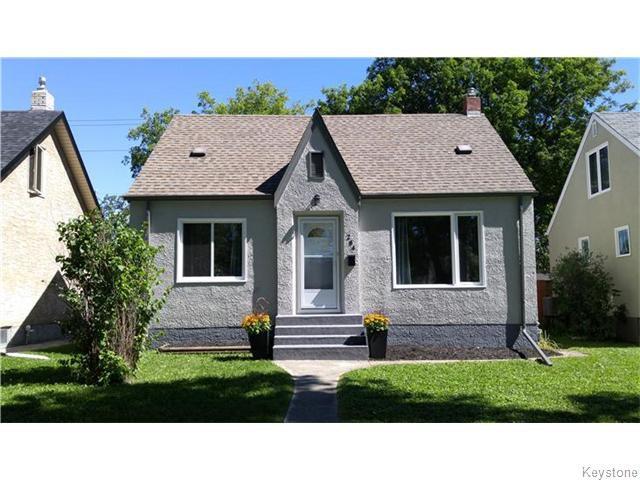 Main Photo: 284 Renfrew Street in WINNIPEG: River Heights / Tuxedo / Linden Woods Residential for sale (South Winnipeg)  : MLS®# 1523284