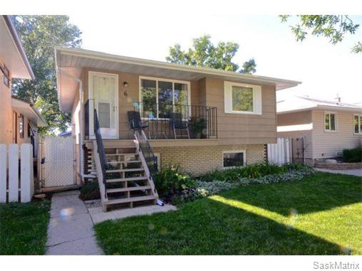 Main Photo: 6 BRUCE Place in Regina: Normanview Single Family Dwelling for sale (Regina Area 02)  : MLS®# 549323