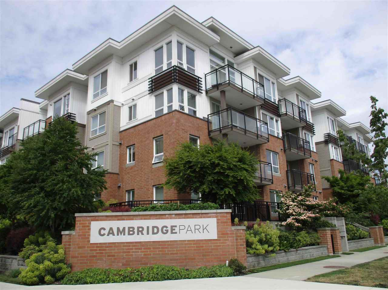 "Main Photo: 110 9500 ODLIN Road in Richmond: West Cambie Condo for sale in ""CAMBRIDGE PARK"" : MLS®# R2068379"