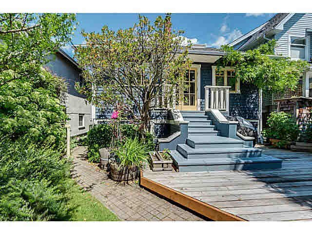 Main Photo: 4432 W 8TH AVENUE in : Point Grey House for sale : MLS®# V1069792