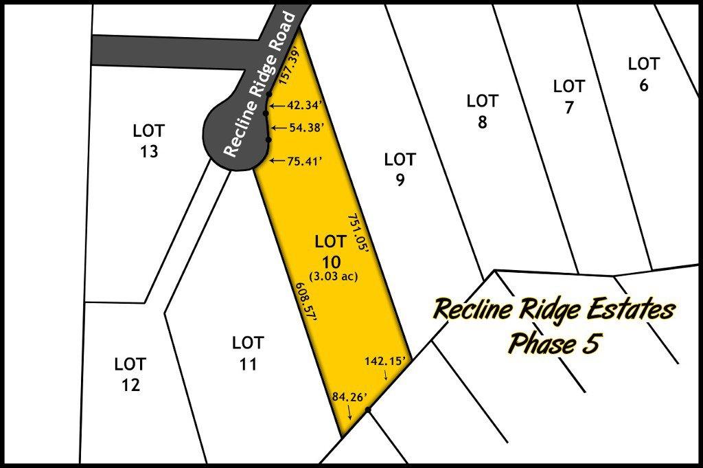 Recline Ridge Estates Phase V - Lot 10