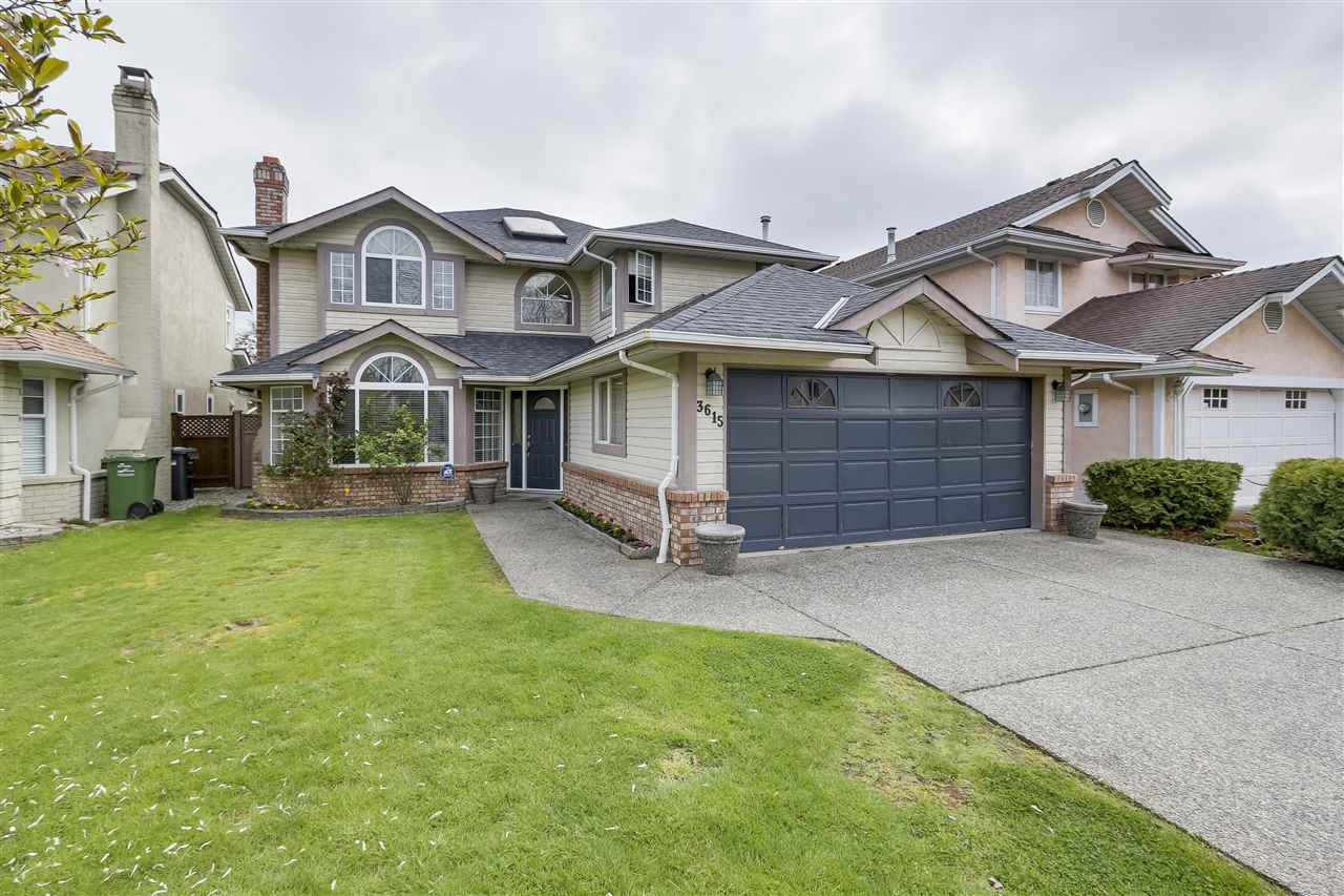 "Main Photo: 3615 CUNNINGHAM Drive in Richmond: West Cambie House for sale in ""OAKS"" : MLS®# R2275164"