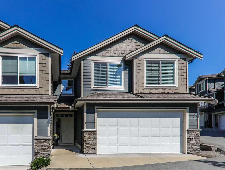 "Main Photo: 3 11384 BURNETT Street in Maple Ridge: East Central Townhouse for sale in ""MAPLE CREEK LIVING"" : MLS®# R2327365"