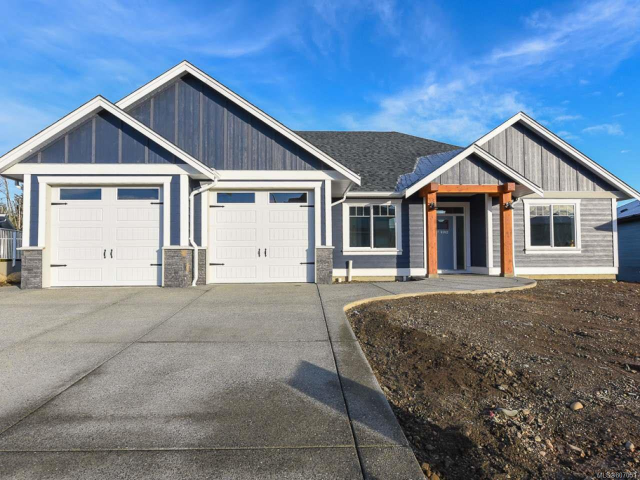 Main Photo: 4142 Chancellor Cres in COURTENAY: CV Courtenay City House for sale (Comox Valley)  : MLS®# 807051