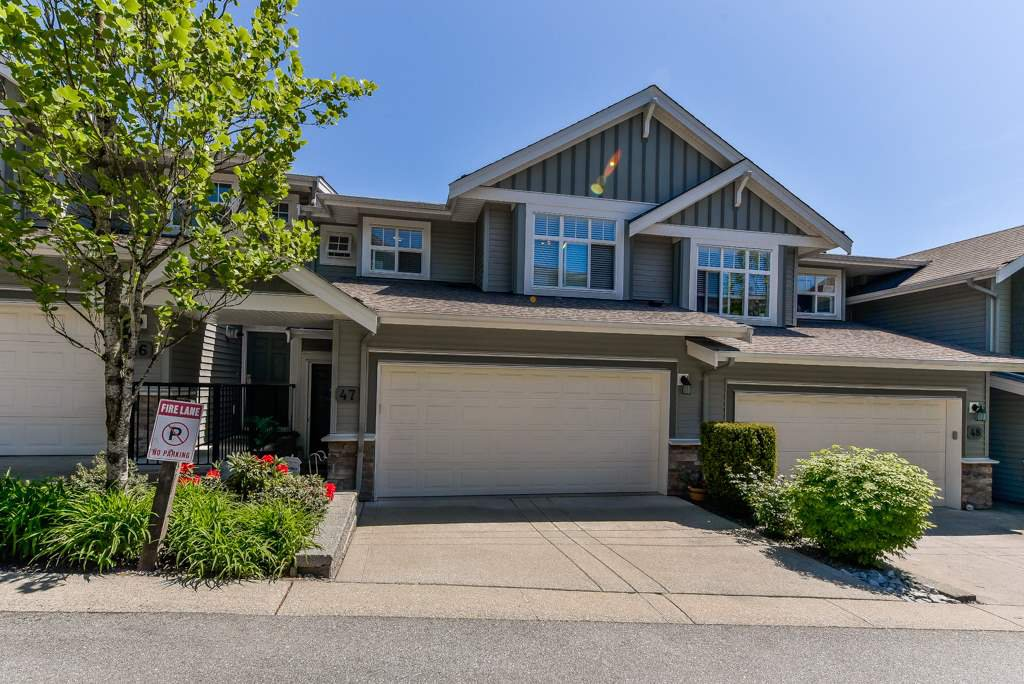 "Main Photo: 47 11282 COTTONWOOD Drive in Maple Ridge: Cottonwood MR Townhouse for sale in ""THE MEADOWS AT VERIGIN'S RIDGE"" : MLS®# R2367406"