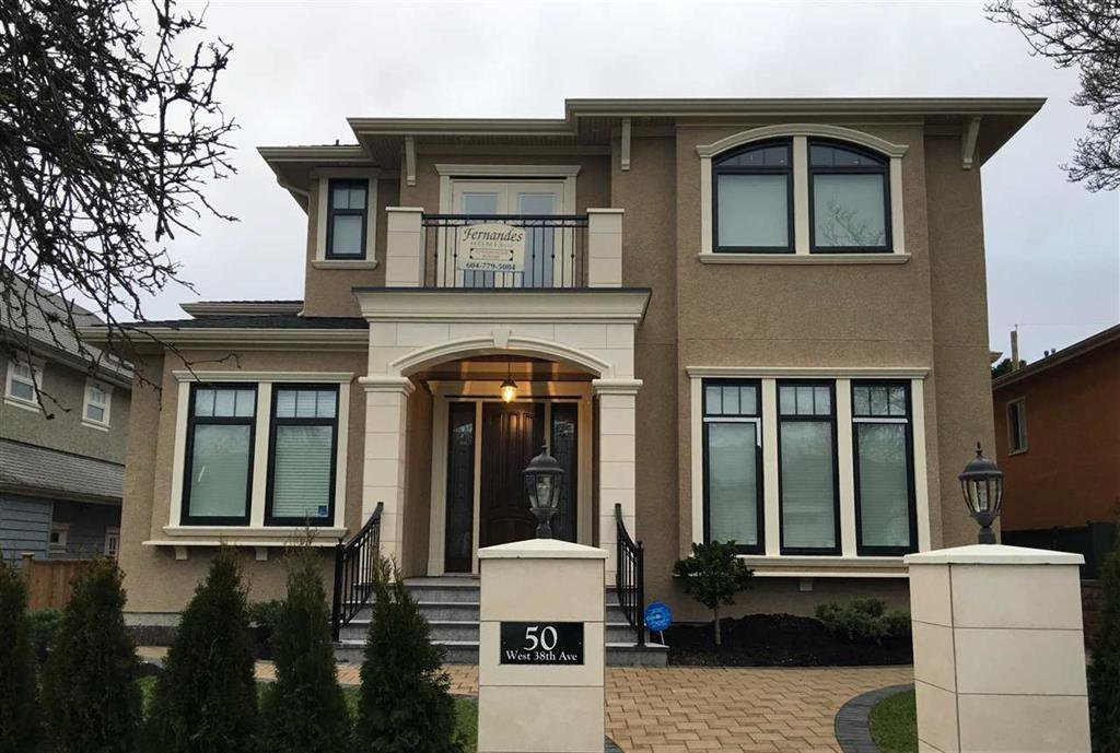 Main Photo: 50 West 38th Ave. in Vancouver: Cambie House for sale (Vancouver West)  : MLS®# R2027645