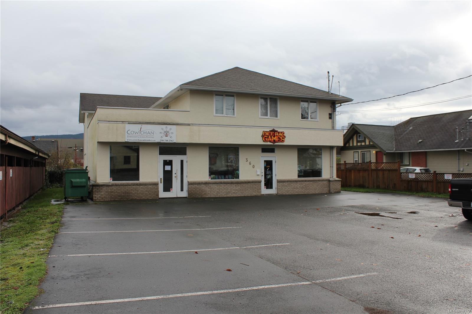 Main Photo: 360 Festubert St in : Du West Duncan Retail for lease (Duncan)  : MLS®# 852317