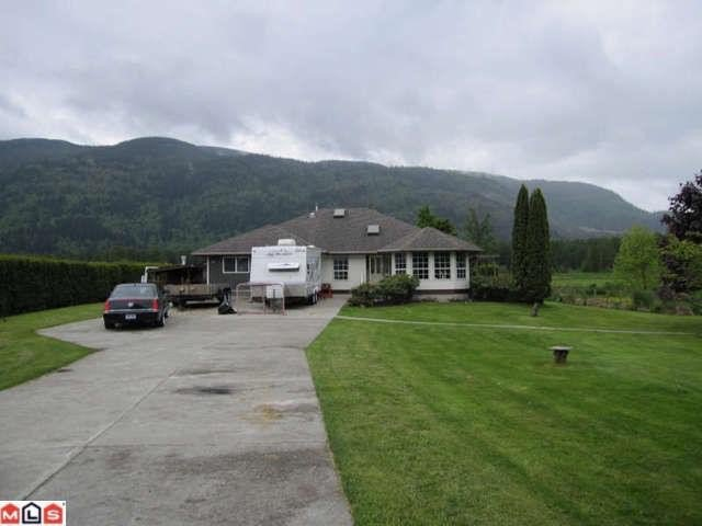 Main Photo: 38806 NICOMEN ISL TRK Road in Mission: Dewdney Deroche House for sale : MLS®# F1113995