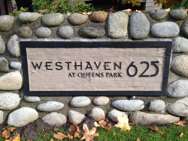 "Main Photo: 306 625 PARK Crescent in New Westminster: GlenBrooke North Condo for sale in ""Westhaven"" : MLS®# V1040934"