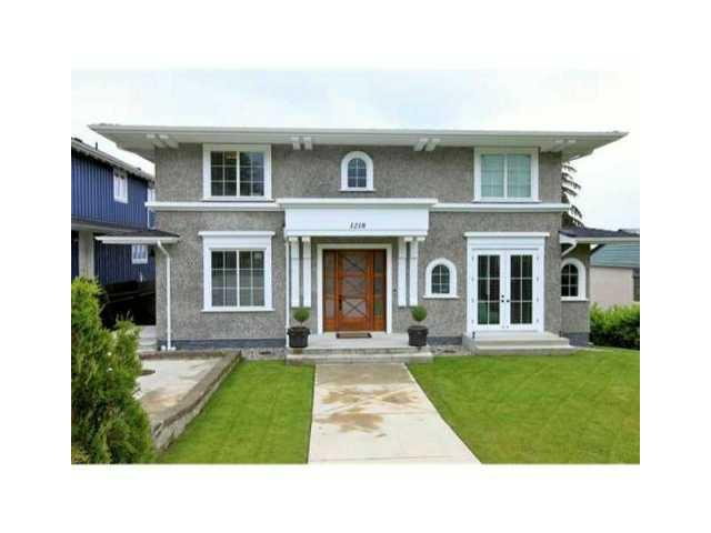 Main Photo: 1218 GORDON AV in West Vancouver: Ambleside House for sale : MLS®# V1047508
