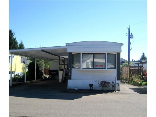"Main Photo: 213 201 CAYER Street in Coquitlam: Maillardville Manufactured Home for sale in ""WILDWOOD PARK"" : MLS®# V1058709"
