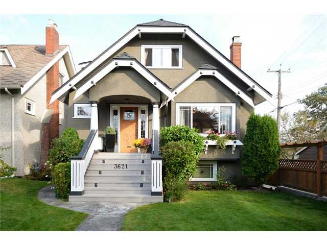 Main Photo: 3621 W 20TH Avenue in Vancouver: Dunbar House for sale (Vancouver West)  : MLS®# V1089715