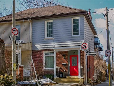 Main Photo: Map location: 36 Verral Avenue in Toronto: South Riverdale House (2-Storey) for sale (Toronto E01)  : MLS®# E3147874