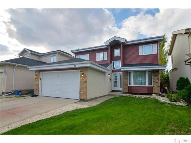 Main Photo: 91 Eaglemere Drive in WINNIPEG: East Kildonan Residential for sale (North East Winnipeg)  : MLS®# 1530574