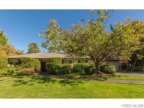 Main Photo: 829 Leota Pl in VICTORIA: SE Cordova Bay Single Family Detached for sale (Saanich East)  : MLS®# 742454