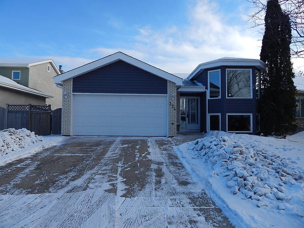 Main Photo: 324 Columbia Drive in Winnipeg: House for sale : MLS®# 1803379