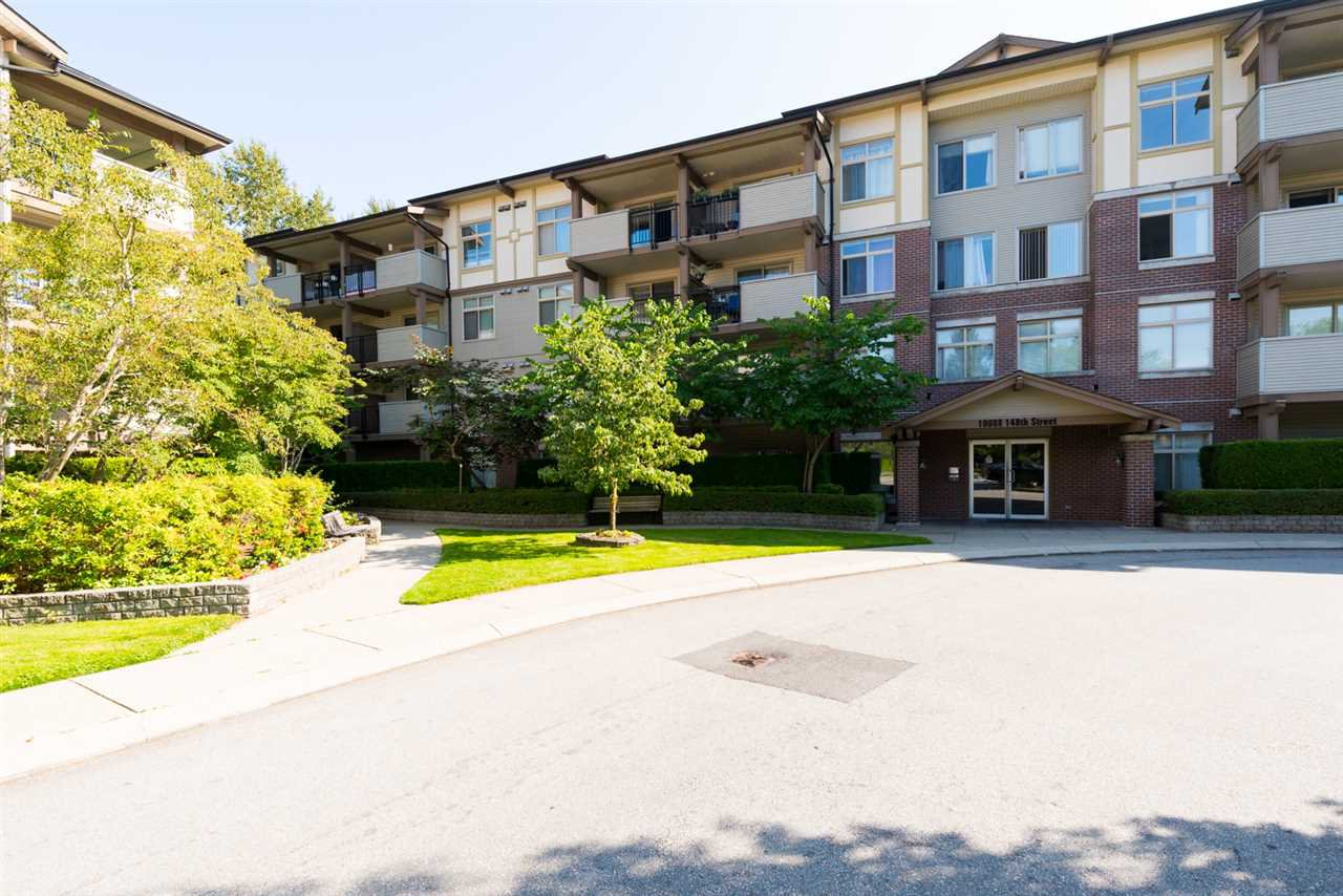 "Main Photo: 406 10088 148 Street in Surrey: Guildford Condo for sale in ""Bloomsbury Court"" (North Surrey)  : MLS®# R2384343"
