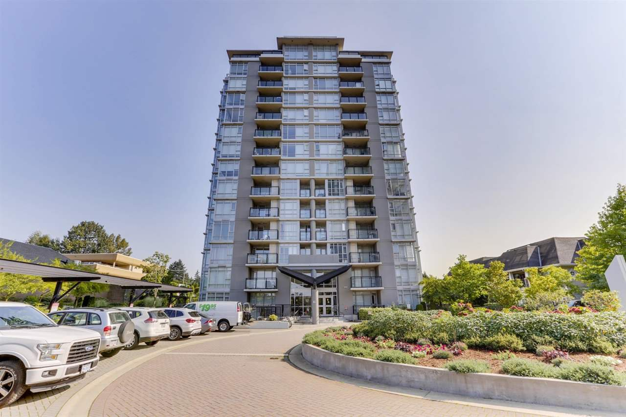 Main Photo: 507 575 DELESTRE Avenue in Coquitlam: Coquitlam West Condo for sale : MLS®# R2504581