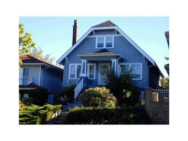 Main Photo: 2992 E 2ND Avenue in Vancouver: Renfrew VE House for sale (Vancouver East)  : MLS®# V874739