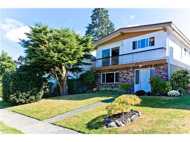 Main Photo: 4514 PRINCE ALBERT Street in Vancouver: Fraser VE House for sale (Vancouver East)  : MLS®# V969124