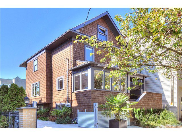 Main Photo: 2117 YEW Street in Vancouver: Kitsilano House for sale (Vancouver West)  : MLS®# V998847