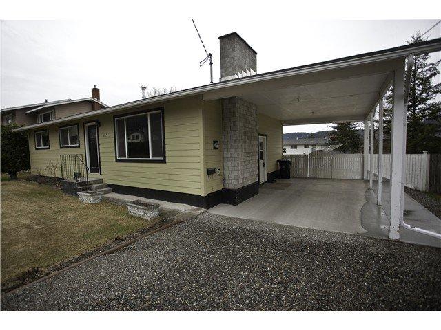 Main Photo: 985 PIGEON Avenue in Williams Lake: Williams Lake - City House for sale (Williams Lake (Zone 27))  : MLS®# N235105
