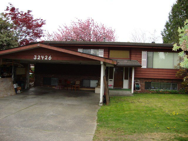 Main Photo: 32426 MARSHALL Road in Abbotsford: Abbotsford West House for sale : MLS®# F1437989