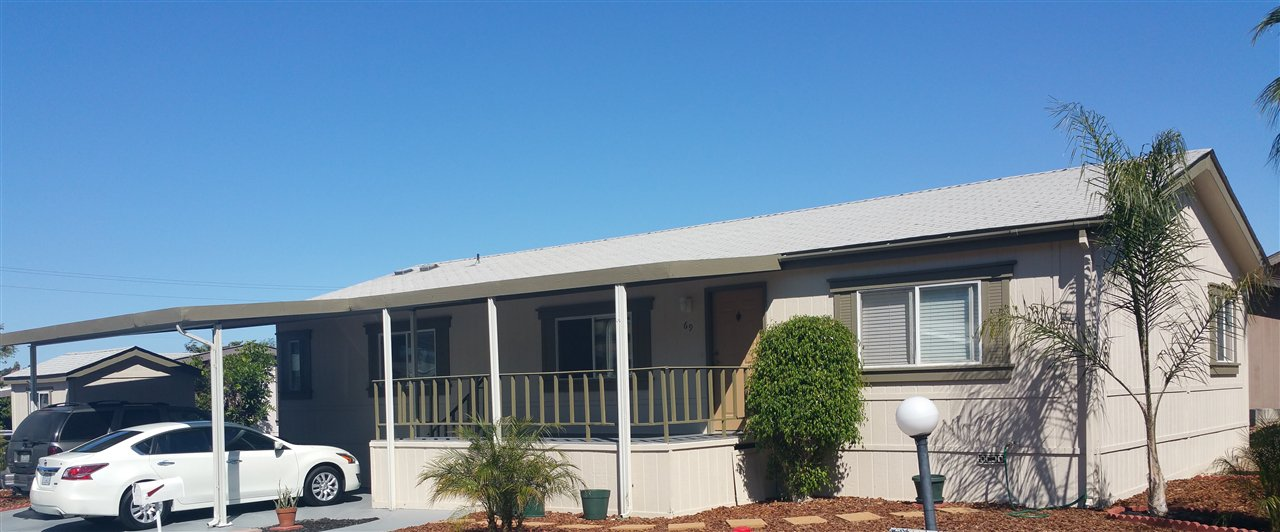 Main Photo: VISTA Manufactured Home for sale : 3 bedrooms : 200 S Emerald Drive #69