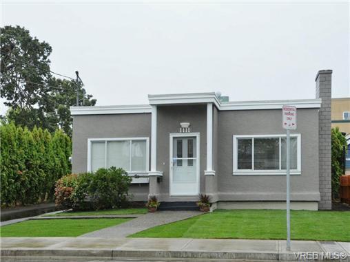Main Photo: 1111 Caledonia Ave in VICTORIA: Vi Central Park Half Duplex for sale (Victoria)  : MLS®# 708700