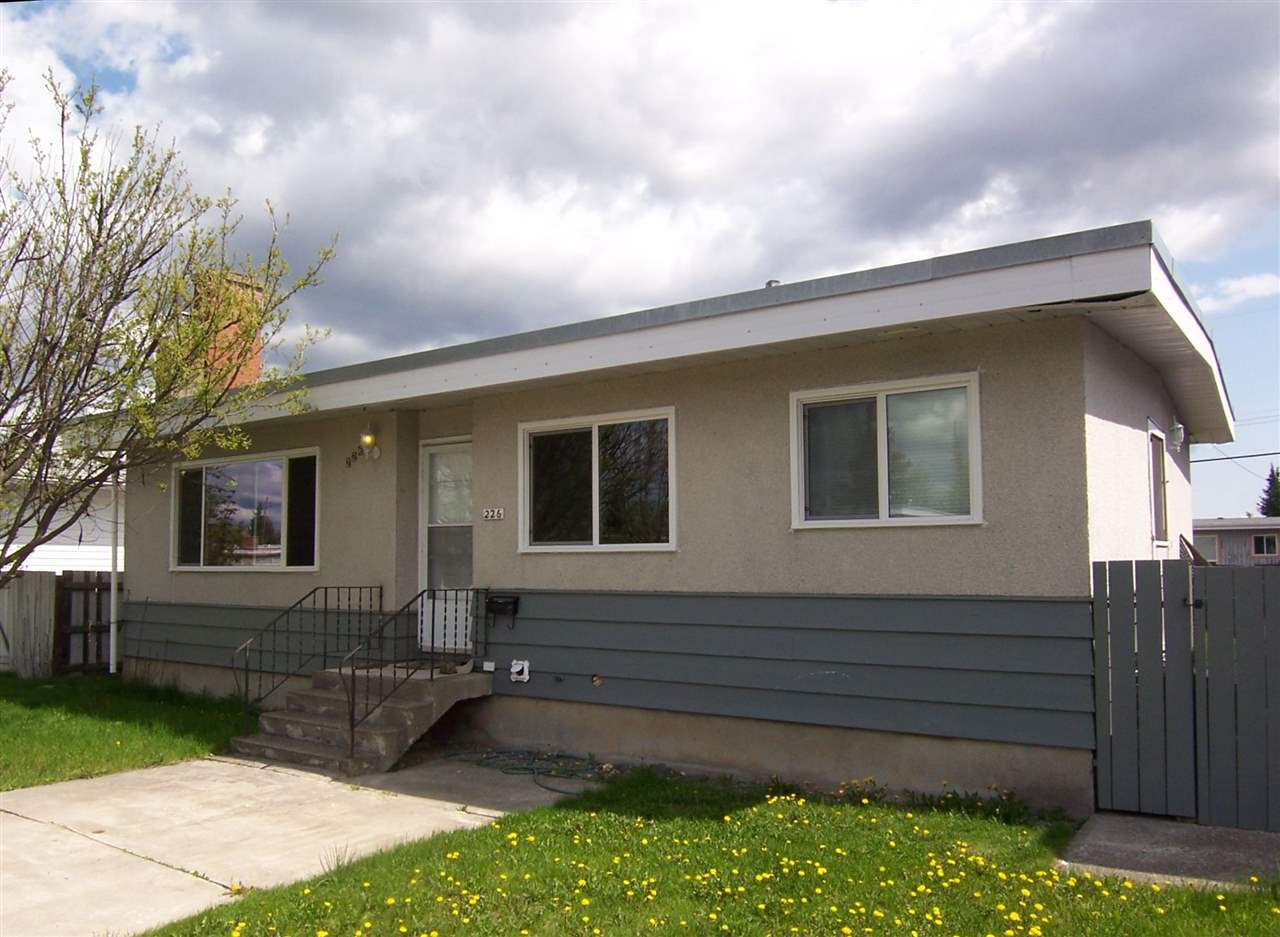 Main Photo: 226 MOFFAT Street in Prince George: Quinson House for sale (PG City West (Zone 71))  : MLS®# R2060573