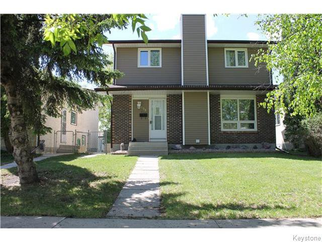 Main Photo: 479 Lindsay Street in Winnipeg: River Heights / Tuxedo / Linden Woods Residential for sale (South Winnipeg)  : MLS®# 1613479