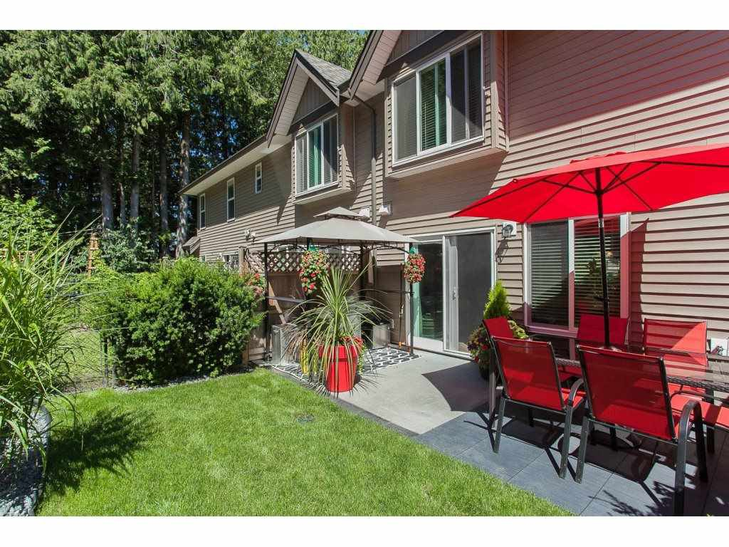 "Main Photo: 46 46791 HUDSON Road in Chilliwack: Promontory Townhouse for sale in ""Walker Creek"" (Sardis)  : MLS®# R2081635"