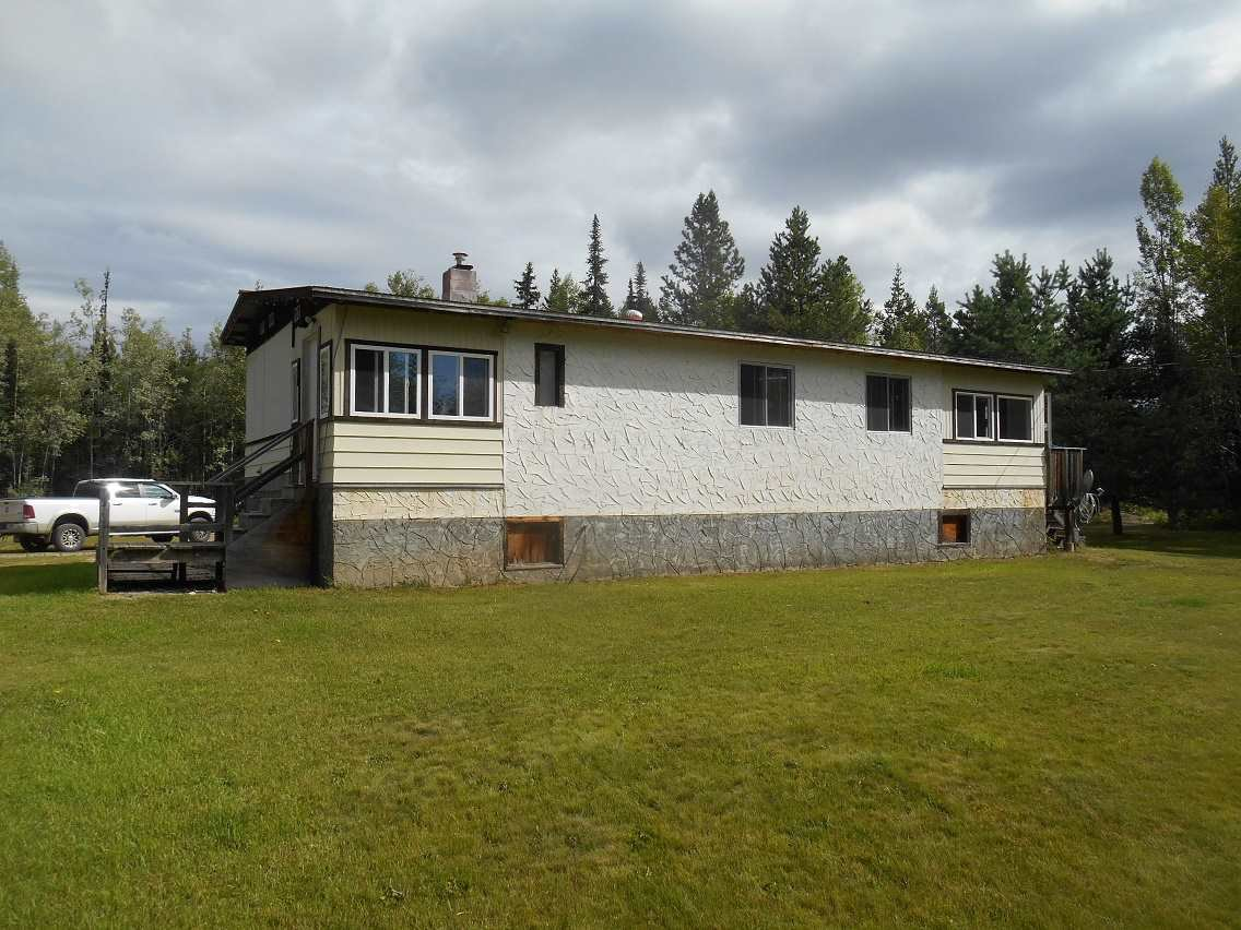 Main Photo: 18170 NESS LAKE Road: Ness Lake Manufactured Home for sale (PG Rural North (Zone 76))  : MLS®# R2096729