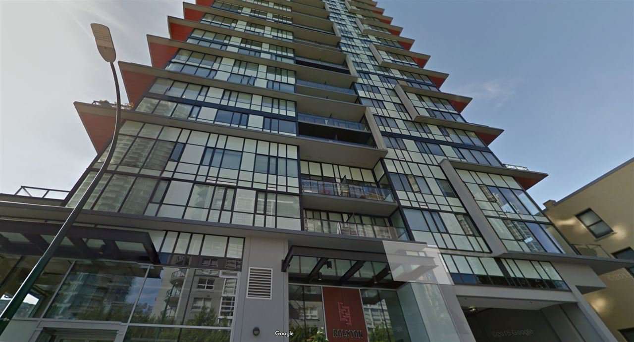 Main Photo: 1007 1325 ROLSTON STREET - LISTED BY SUTTON CENTRE REALTY in Vancouver: Downtown VW Condo for sale (Vancouver West)  : MLS®# R2140151