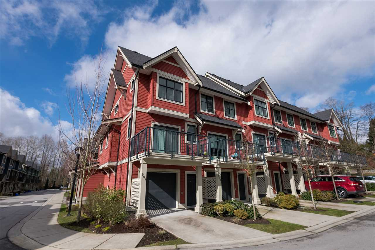Main Photo: 906 8485 NEW HAVEN CLOSE in Burnaby: Big Bend Townhouse for sale (Burnaby South)  : MLS®# R2165578