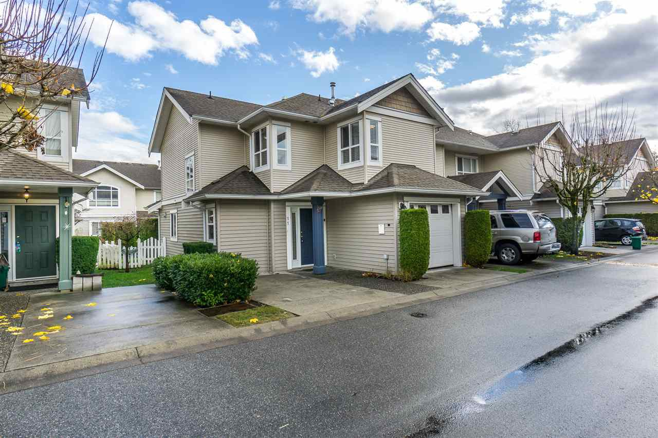 "Main Photo: 11 6513 200 Street in Langley: Willoughby Heights Townhouse for sale in ""Logan Creek"" : MLS®# R2223982"