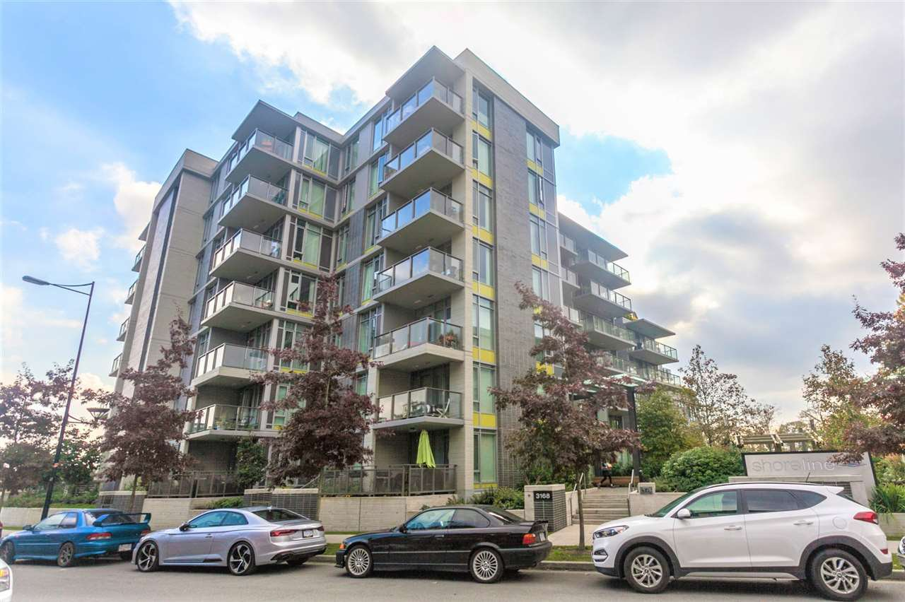 """Main Photo: 205 3168 RIVERWALK Avenue in Vancouver: Champlain Heights Condo for sale in """"SHORELINE BY POLYGON"""" (Vancouver East)  : MLS®# R2315769"""
